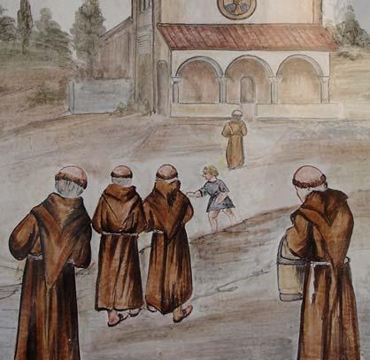 I Frati tornano al Santuario